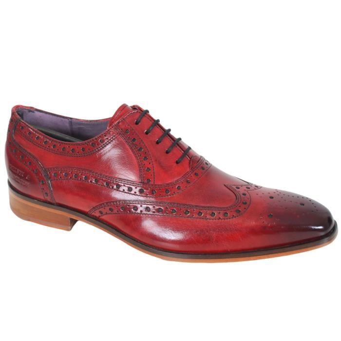 vente en ligne ventes spéciales prix modéré Chaussure en cuir Melvin & Hamilton Lance 14 Rouge - Achat ...