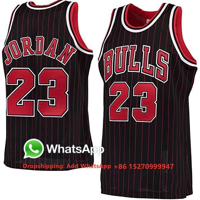 Maillot de Basket Ball #23 Michael Jordan Throwback Homme Basketball Pas Cher