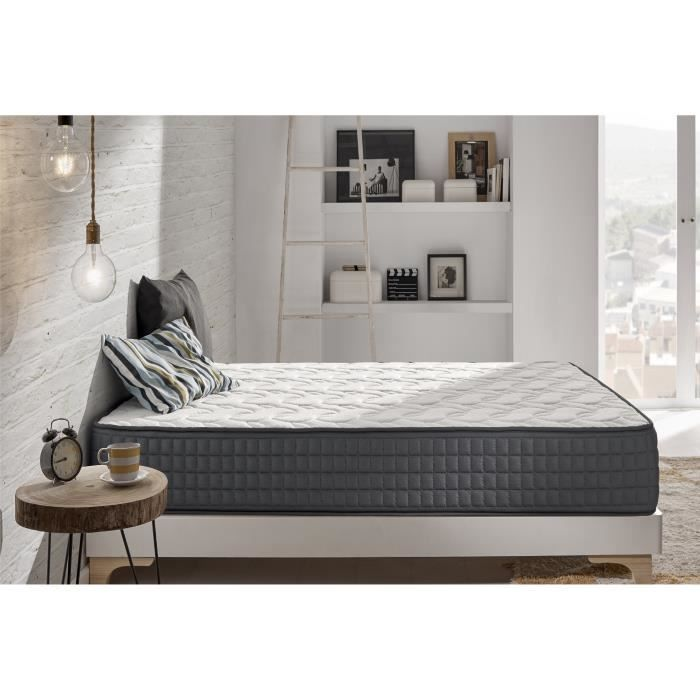 MATELAS Matelas VISCO-GRAFENO 160x200 cm Technologie Mouss