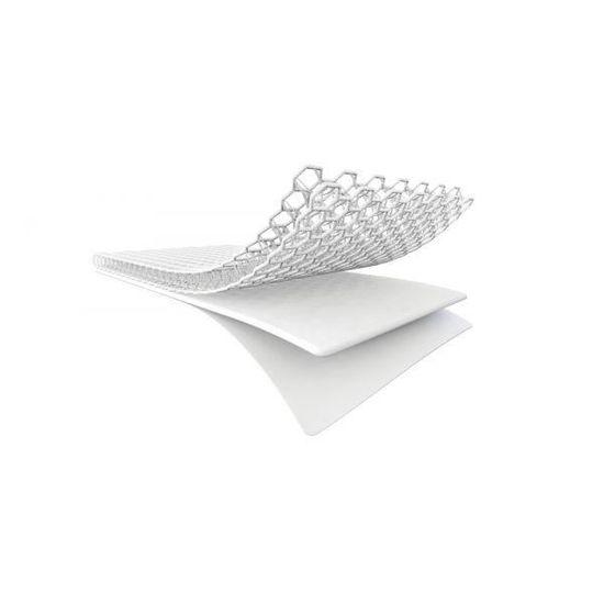 Blanc ESSENTIAL Pack Matelas en Airfelt Matelas et prot/ège-matelas 140 x 70cm mat/ériaux innovants avec une structure ouverte AEROSLEEP