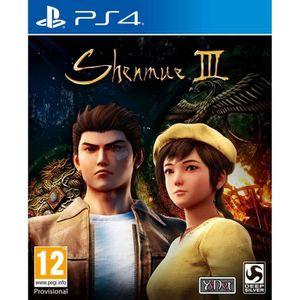 JEU PS4 Shenmue III Jeu PS4