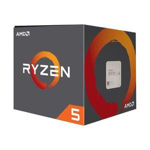 PROCESSEUR AMD Ryzen 5 1600 3.2 GHz 6 cœurs 12 fils 19 Mo cac