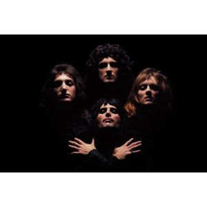 AFFICHE - POSTER ki128kk-XL Reine Music Band Bohemian Rhapsody Post