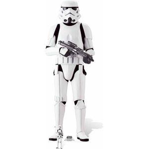 FIGURINE - PERSONNAGE Figurine en carton taille réelle Imperial Stormtro