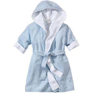 Clinotest Peignoir de bain pour enfant avec capuche Bleu ou jaune 100 /% coton
