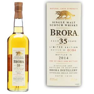 WHISKY BOURBON SCOTCH Brora 13th release 1978 35 ans 48.6°