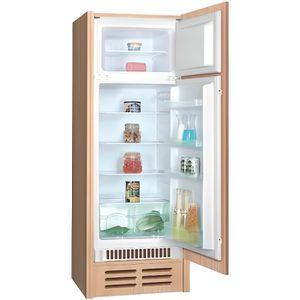 RÉFRIGÉRATEUR CLASSIQUE Réfrigérateur A+ 4* intégrable 2 portes 202L