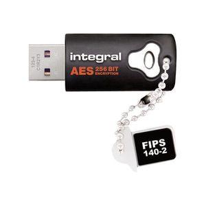 CLÉ USB Integral - Clé USB cryptage AES 256bit - 8Go