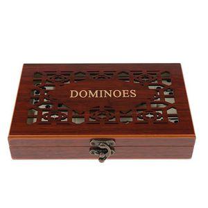 DOMINOS JEU DE SOCIETE - JEU DE PLATEAU 28 pièces dominos