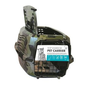 CAISSE DE TRANSPORT MPETS Cage de transport Warrior - Pour chien - 46x