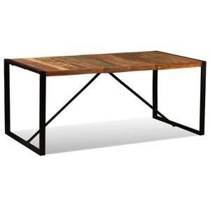 TABLE À MANGER SEULE Table de salle à manger - Table à manger Bois de r