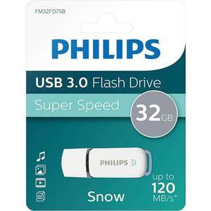 CLÉ USB PHILIPS - Clé USB - Snow - 32 Go - USB 3.0