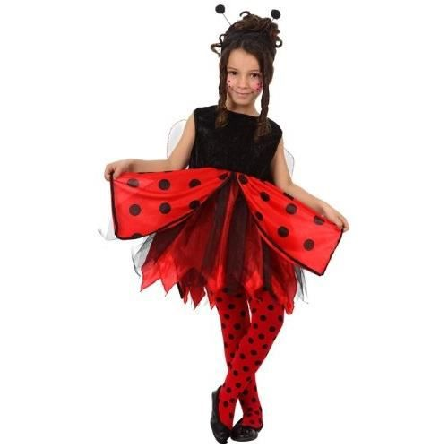 ATOSA - 12197 - Costume / Déguisement Fille COCCINELLE - Taille 4
