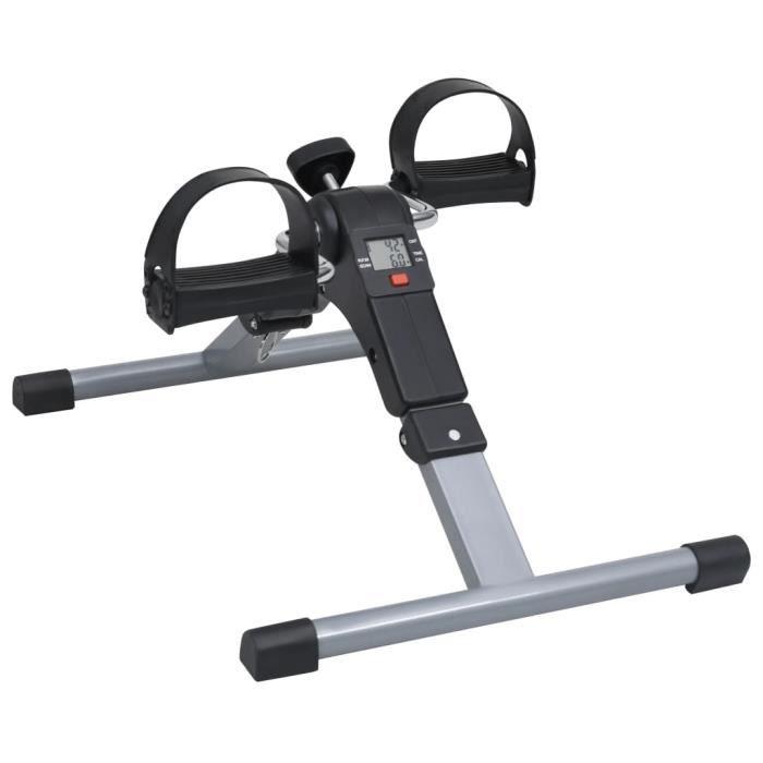 Appareil d'exercices à pédales pour jambes et bras à écran LCD