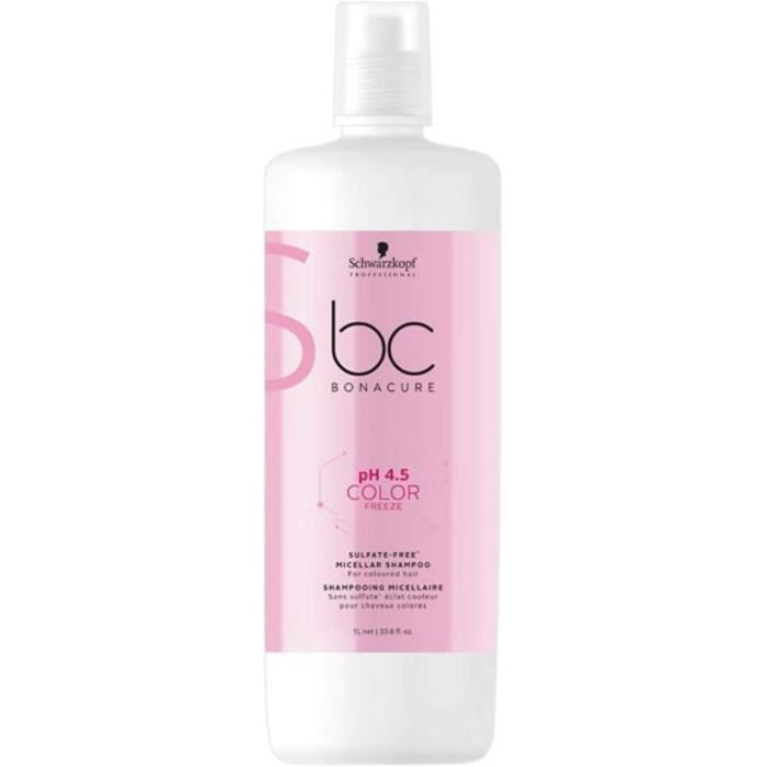 Soins des cheveux Schwarzkopf Professional BONACURE ph 4.5 Color Freeze Micellar Sulfate Free Shampooing 147825