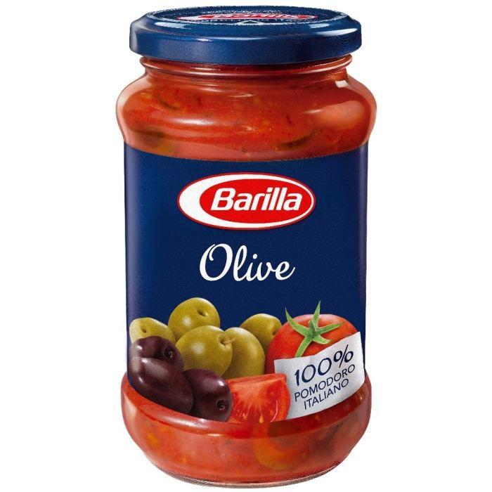 BARILLA Sauce aux Olives 400g