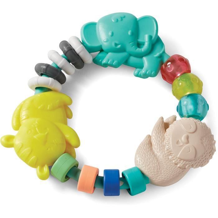 INFANTINO Anneau de dentition multitexturés