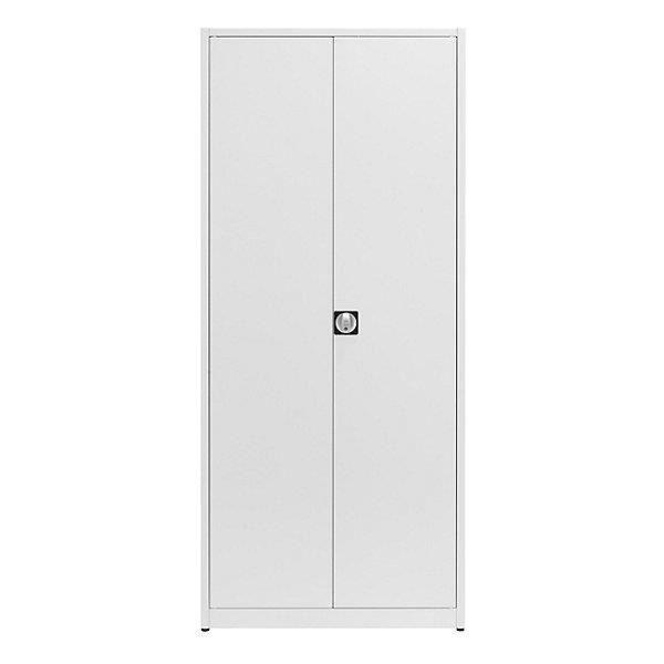 Mauser Armoire universelle extra-haute - h x l x p 2200 x 950 x 420 mm gris clair - armoire armoire de bureau armoire métallique