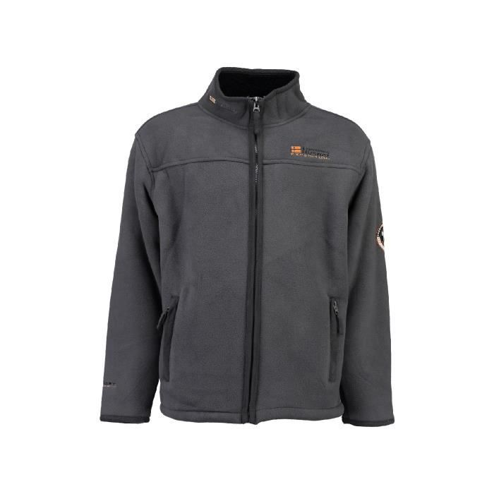 Polaire Homme Geographical Norway Usine Gris