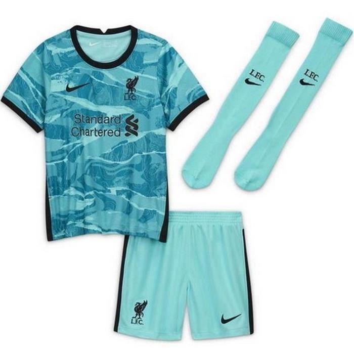 Mini-Kit Officiel Enfant Nike Liverpool Extérieur Saison 2020-2021