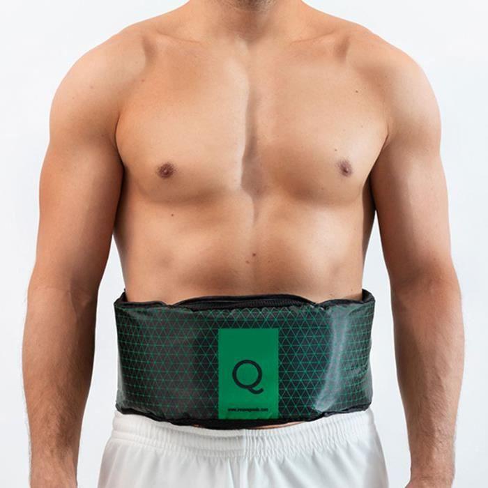 SHOP-STORY - Ceinture De Musculation Sport Vibrante Vibroaction Plus Abdominale Abdo Belt Q