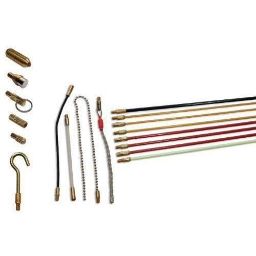 Super Rod Kit tiges de guidage Kit d`installation avec câble 8m et 10 attaches (Import Grande Bretagne) - SRAV