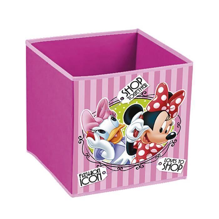 Minnie Coffre De Rangement Pliable Pour Jouets Minnie Disney Achat Vente Coffre A Jouets 8882155360978 Cdiscount