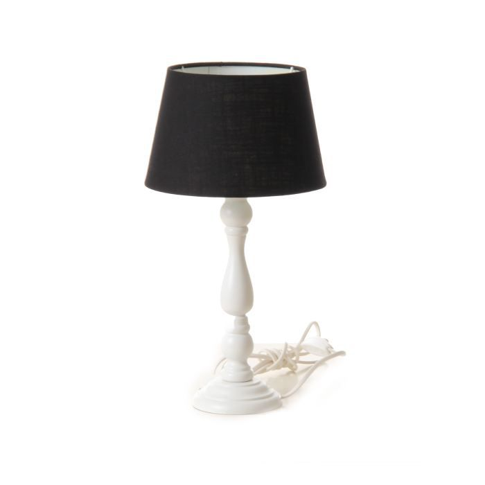 lili lampe de chevet 25 w noir achat vente lili lampe. Black Bedroom Furniture Sets. Home Design Ideas