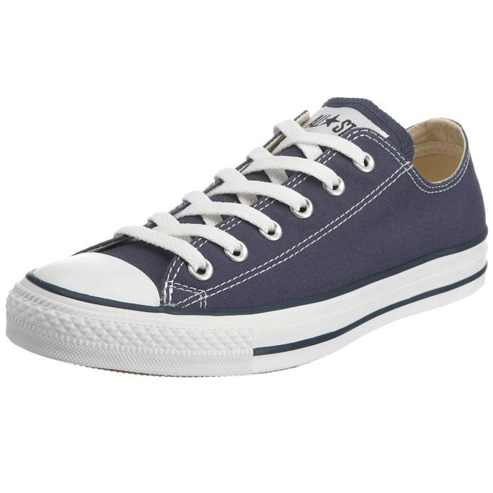 converse all star baskets bass bleu marine achat vente basket cdiscount. Black Bedroom Furniture Sets. Home Design Ideas
