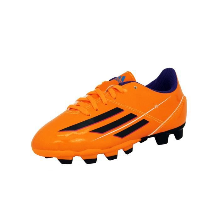 watch 7ba31 ecc86 CHAUSSURES DE FOOTBALL Adidas F5 TRX FG J Orange