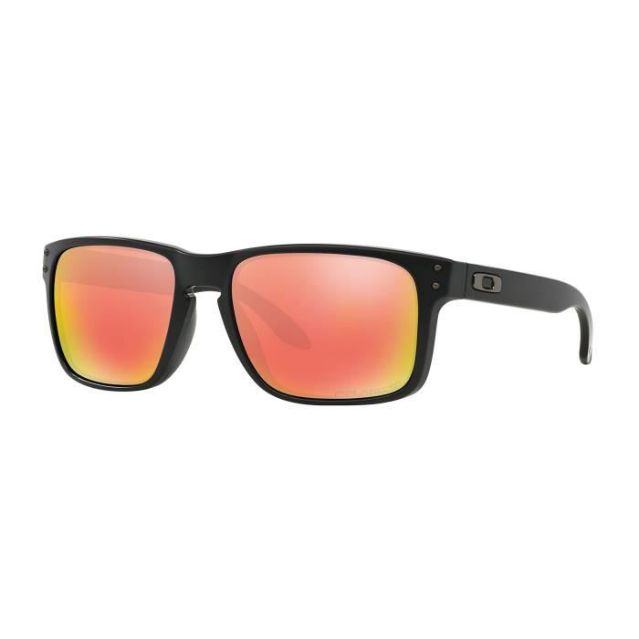 Oakley Holbrook Matte Black-ice Iridium Polarized(009102-52) UJM1O ... 7451a882423f