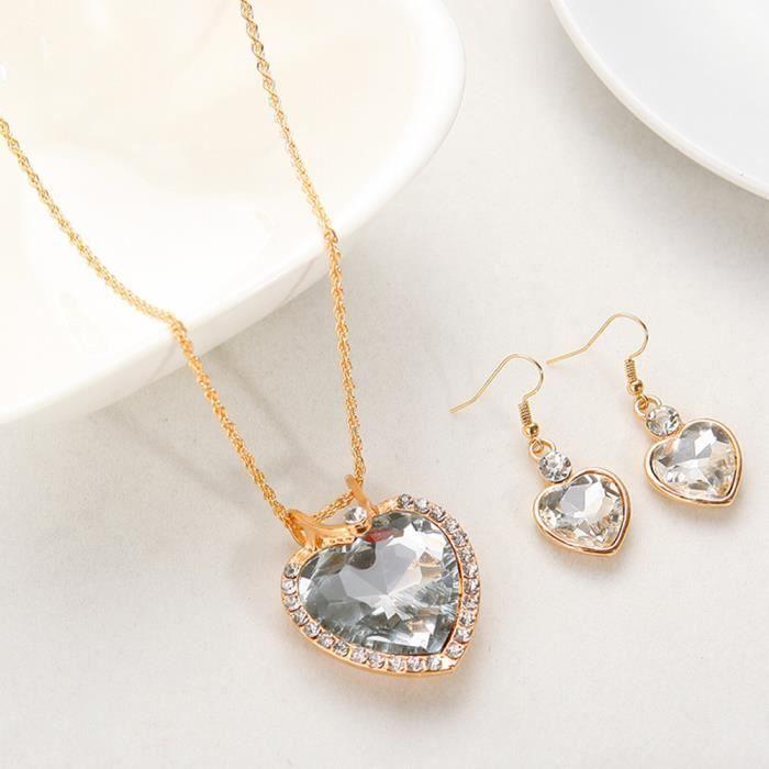 collier de luxe pour femme
