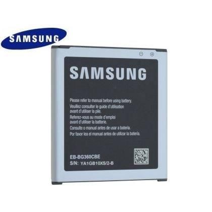 Batterie D Origine Eb Bg360cbe Pour Samsung Sm G361 Galaxy Core Prime Achat Batterie Téléphone Pas Cher Avis Et Meilleur Prix Cdiscount