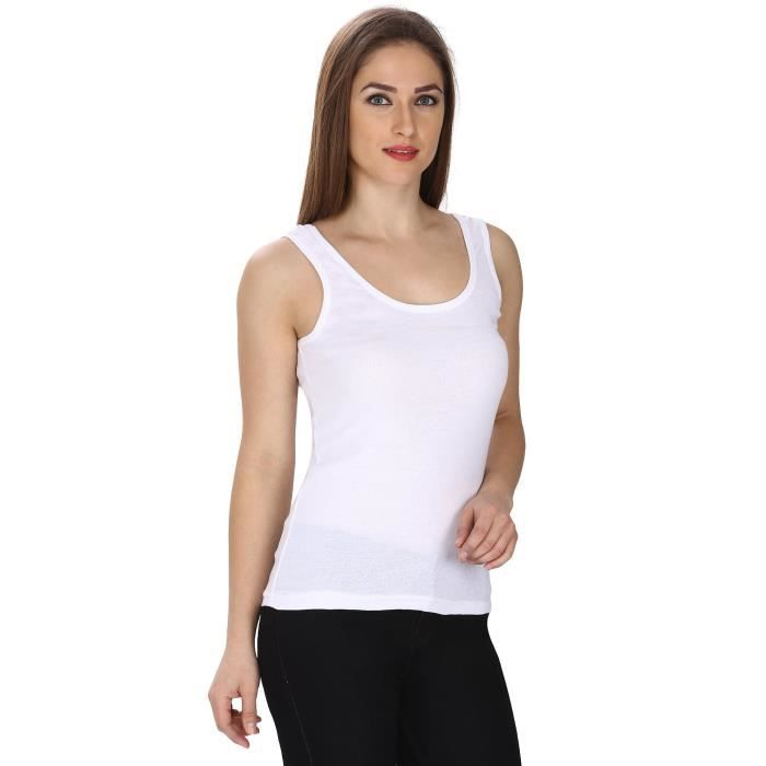 Tank Top Frisker F5iyg Taille Cotton 34 Femmes EqSwBS