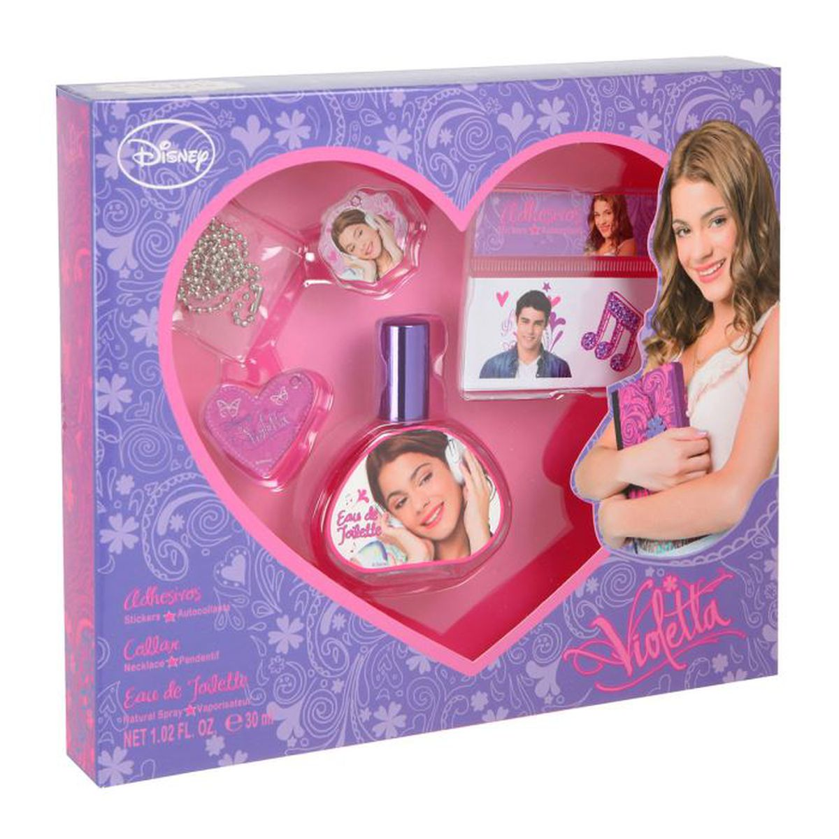 coffret violetta achat vente coffret cadeau parfum coffret parfum violetta cdiscount. Black Bedroom Furniture Sets. Home Design Ideas