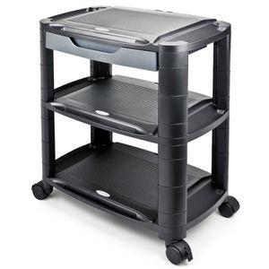 CAISSON DE BUREAU  Support imprimante, machine à roulettes 550 x 330