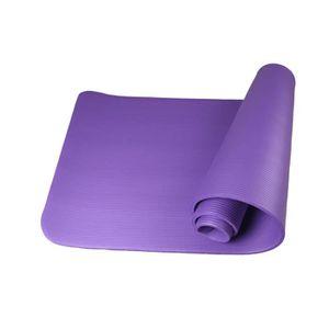 TAPIS DE SOL FITNESS 10MM Non Slip Tapis De Yoga Exercice D'entraînemen