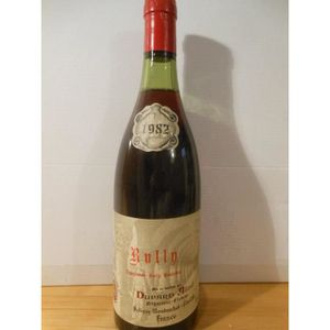 VIN ROUGE rully dupard ainé rouge 1982 - bourgogne france