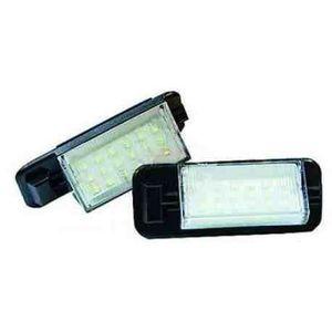 12-30V 1 paire LED Lampe de plaque dimmatriculation compatible avec 3 s/éries E36 63261387047 Eclairage de plaque dimmatriculation
