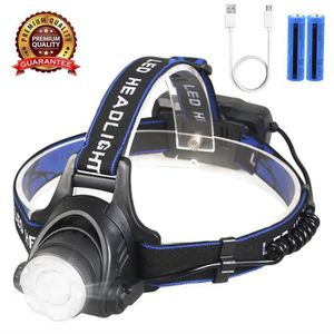 LAMPE FRONTALE MULTISPORT Shine Tool Lampe Frontale LED Rechargeable USB ave