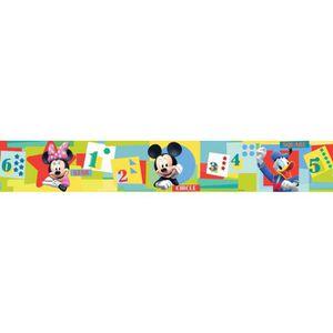 PAPIER PEINT Frise Mickey Minnie Donald Disney