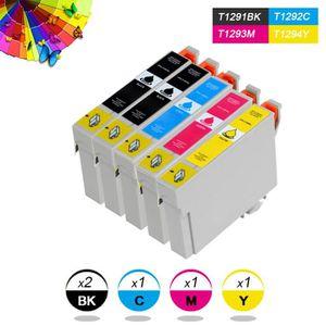CARTOUCHE IMPRIMANTE Pack 5 cartouches compatibles Epson T1291-T1294 -
