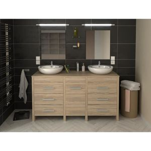 meuble sous lavabo achat vente meuble sous lavabo pas. Black Bedroom Furniture Sets. Home Design Ideas