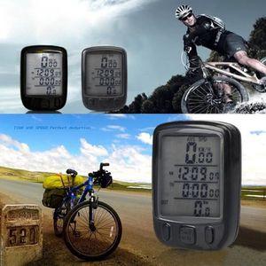 COMPTEUR POUR CYCLE Compteur de vitesse sans fil avec LCD écran pour V