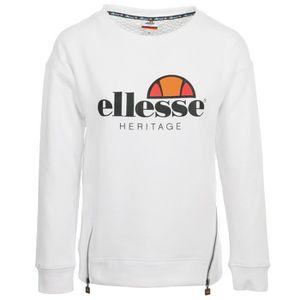 BASKET Sweat Ellesse Eh F Sws Col Rond Zip Blanc