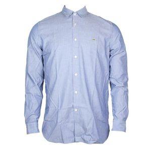 Dickies Homme Chambray Chemise de travail à manches longues bleu slim fit 100/% coton