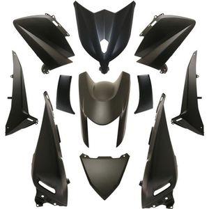 Carenage Yamaha Tmax 2008-2011 Flanc avant inferieur droit Noir