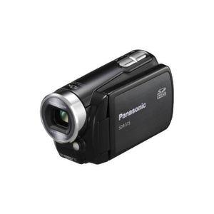CAMÉSCOPE NUMÉRIQUE Panasonic SDR-S15EB-K Caméscope 800 KP 10x zoom op