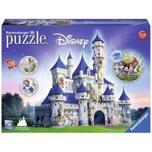 CASSE-TÊTE Ravensburger 12587 - Puzzle - 3d Château Disney -