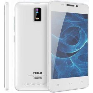 SMARTPHONE Teeno Smartphone HD 4G débloqué Blanc (Android  Do